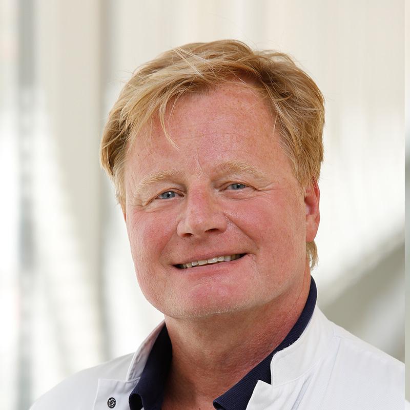 Hein Kayser is radioloog in Tergooi